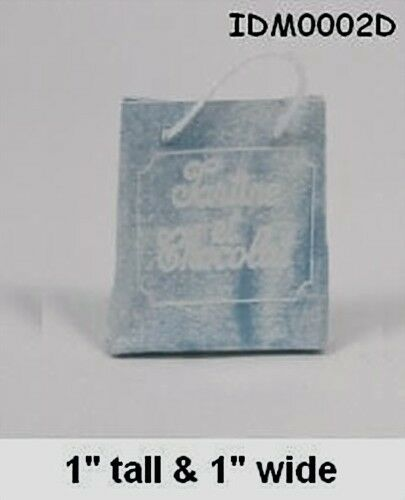 Set of 3 Shopping bags 1:12 SCALE DOLLHOUSE MINIATURES