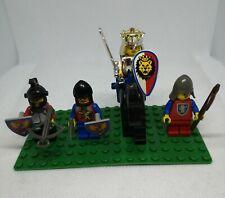 Ersatzteile LEGO® 6125 2x Pferd Kopf Schmuck Rüstung Ritter rot