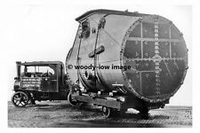 rp17733 - Robert Wynn & Sons of Newport Foden Steam Lorry - photograph 6x4