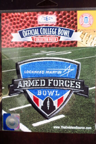 Officiel NCAA College Football Armed Forces Bol 2018/19 Patch Houston & Armée