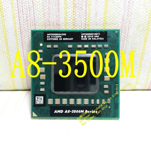 AMD A8-3500M 1.5GHz Quad Core (AM3500DDX43GX) Notebook Processor