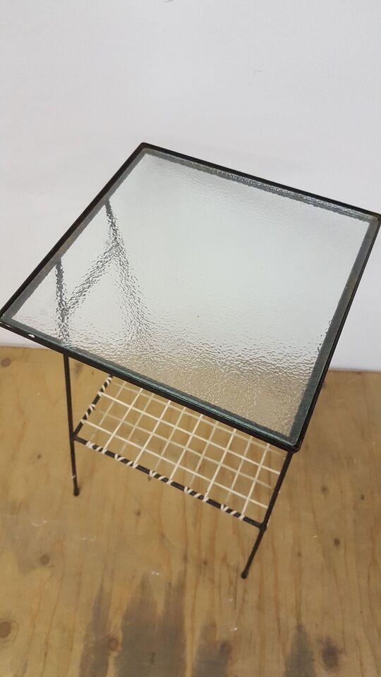 Glasbord, metal