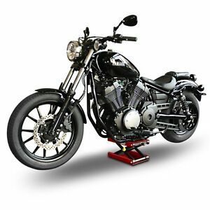bequille d 39 atelier moto pour harley davidson cric ciseaux leve ebay. Black Bedroom Furniture Sets. Home Design Ideas