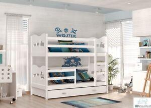Etagenbett Hochbett Doppelstockbett : Kinderbett luis etagenbett hochbett Öko doppelstockbett bett