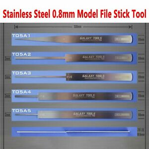 GALAXY-Stainless-Steel-Ultrathin-Model-File-Stick-Hobby-Craft-Grinding-Tools-New