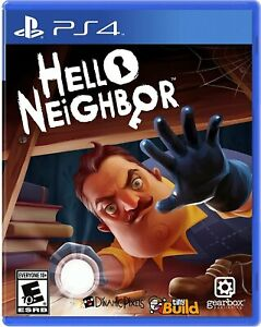 Hello Neighbor PS4 Brand New Factory Sealed PlayStation 4