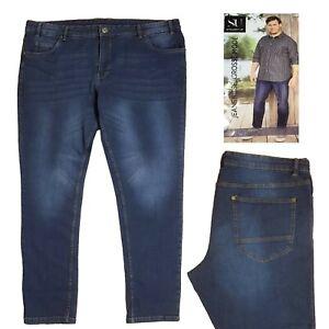 Jeans-pour-Homme-Pantalon-Grand-Mode-Pantalon-pour-Hommes-Gr-62