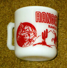1940/1950's Ranger Joe Nabisco Wheat Honnies Cereal Premium Childs Drink Mug