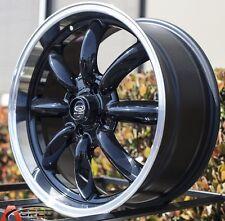 Gloss Black 17x7.5 +45 ROTA RB 4X100 Wheels FIT MINI COOPER S Jcw John Work Rims