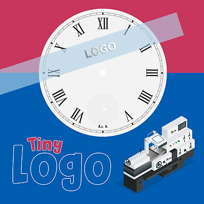 Custom Micro Logos for Watch Dials - Adhesive 3D Metal ...