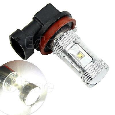 H8 30W LED White High Powe Ultra Bright Car Foglamp Fog Light Bulbs 650LM