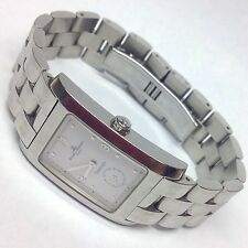 TIFFANY & CO BAUME MERCIER GENEVE SWISS STAINLESS WRIST WATCH