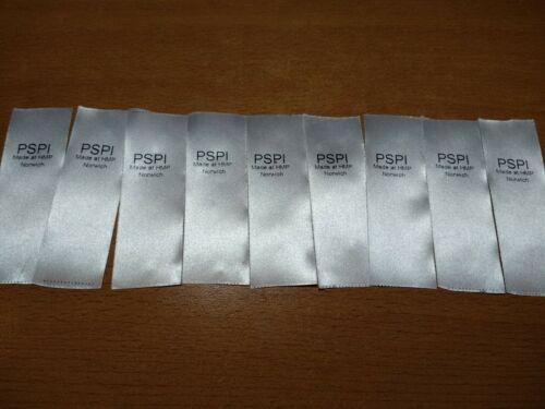 HMP Norwich Clothing Labels Prison