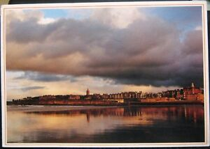 Scotland St Andrews from the seashore  posted 2002 - Newent, United Kingdom - Scotland St Andrews from the seashore  posted 2002 - Newent, United Kingdom
