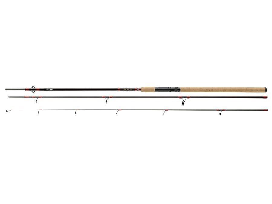 Daiwa Tornado-Z 3 sections 3.00m - 3.90m Ground rod Cork handle Pike Zander Eel