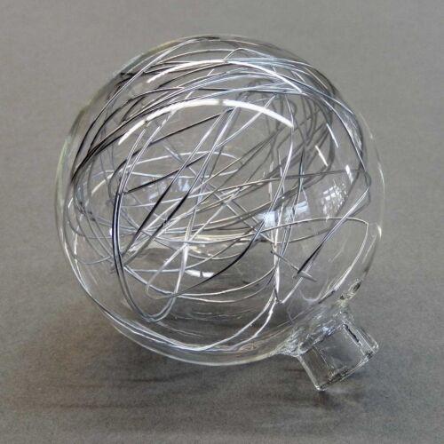 Glas Ersatzglas 6275 für Wofi Verre Kugel klar Draht innen ø 8 cm Neu
