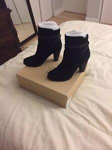 Women's 5 Black Suede Rigby Maat Joie Boot 39 3ARLc54jq