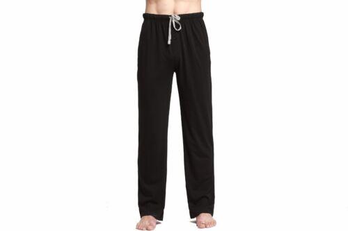 "Men/""s Jersey Cotton Knit Pajama Lounge Sleep Pants//CYZ //# A"