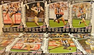 2012-TEAMCOACH-COLLINGWOOD-FOOTBALL-CARD-SET-WITHOUT-SILVER-CHECKLIST