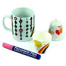 Porcelain Pen - Pink - Dishwasher-safe, Made in Germany