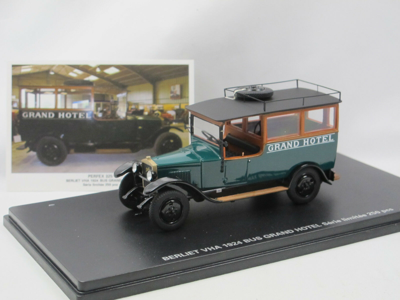 PERFEX 325 - 1924 BERLIET VHA Bus Grand Hôtel-hotelbus - 1 43 Limited Edition