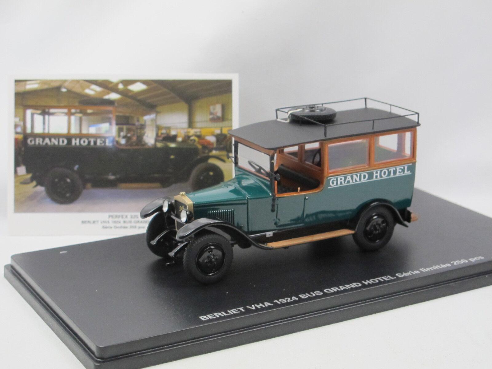 prodotti creativi PERFEX 325 - 1924 Berliet VHA autobus Gre Gre Gre Calienteel-calienteelautobus - 1 43 Limited edizione  all'ingrosso economico e di alta qualità