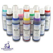 Kroma Airbrush Colours Set Of 12 4oz Bottles