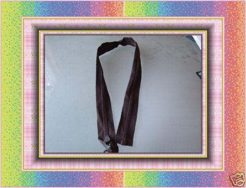 Marrón zip nylon 66cm 26 pulgadas de extremo abierto Compra 3 get1 Libre