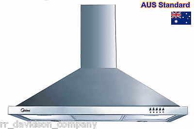 Midea 900MM Stainless Steel Kitchen Range Hood BBQ Canopy Rangehood -- Brand New