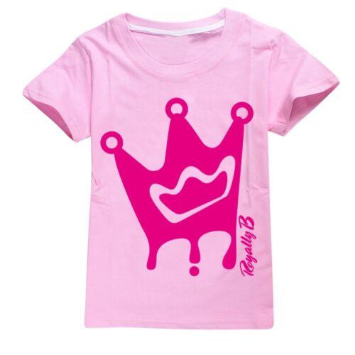 MERVEILLE B Brianna/'s Merch Kids T-shirt Tee Top Garçons Filles Cadeau à manches courtes Tops