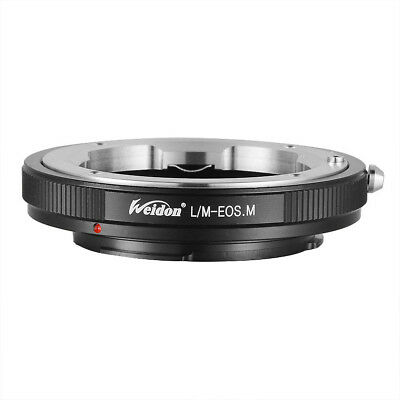 R Mount Lens Tube to Canon EOS M Camera Adapter Ring Mount for Leica L Metal Not Plastic