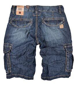 kurze cargo jeans herren