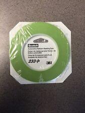 3M 26343 1/8'' Scotch Automotive Performance Masking Tape 233+ Green (10 Rolls)