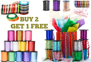 30 METERS BALLOON CURLING RIBBON FOR PARTY GIFT WRAPPING BALLOONS STRING TIE RIO