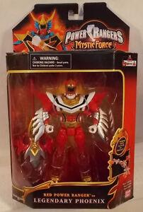 Power Rangers Force mystique Mega Morphin Ranger rouge au légendaire Phoenix Bandai