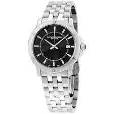 Raymond Weil Tango Black Dial Stainless Steel 39 mm Men's Watch 5591-ST-20001