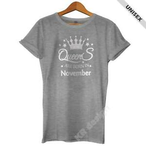Best Are Born In November Birthday Gift Ideas Shirt Funny Gift T-shirt
