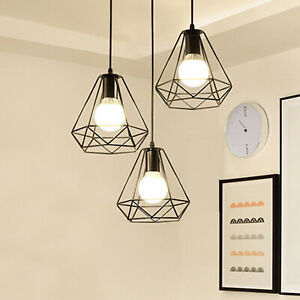 Industrial-Geometric-Light-Shade-Wire-Frame-Ceiling-Pendant-Lightshade-Lampshade