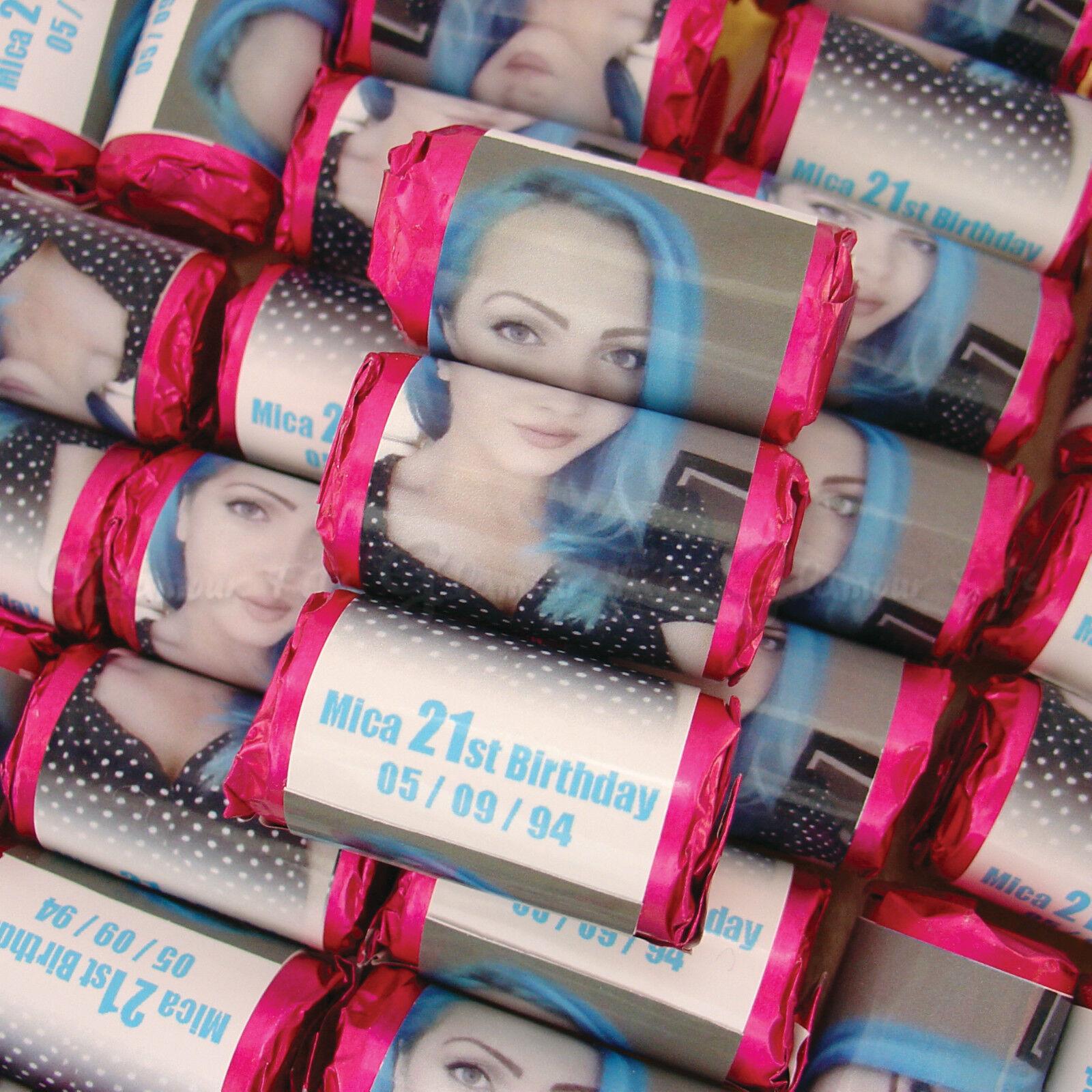 Personalizzata Foto Palloncini Amore Cuori Cuori Cuori Dolci Ragazzo Uomo Festa Di Compleanno Borsa Filler d77df8