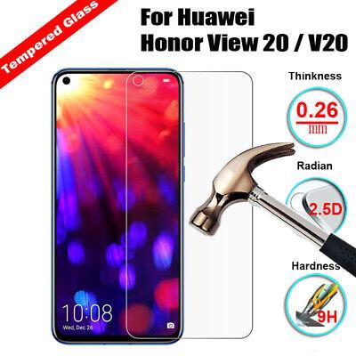 Color : Black ALICEWU WJH 25 PCS Full Screen Full Glue Anti-Fingerprint Tempered Glass Film for Huawei Honor View 20 Black