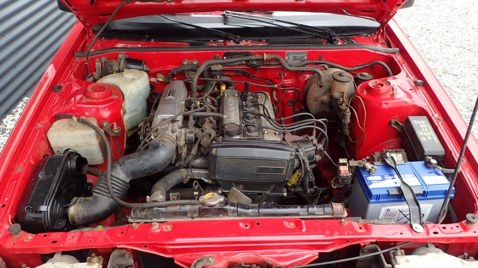 Toyota Corolla 1,6 GT Coupé Benzin modelår 1984 km 185000