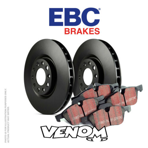 EBC Front Brake Kit Discs & Pads for Jaguar XJ6 3.2 9497