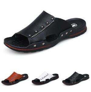 Summer Mens Slingbacks Slippers Shoes Open Toe Sand Walking Sports Non-slip 44 B