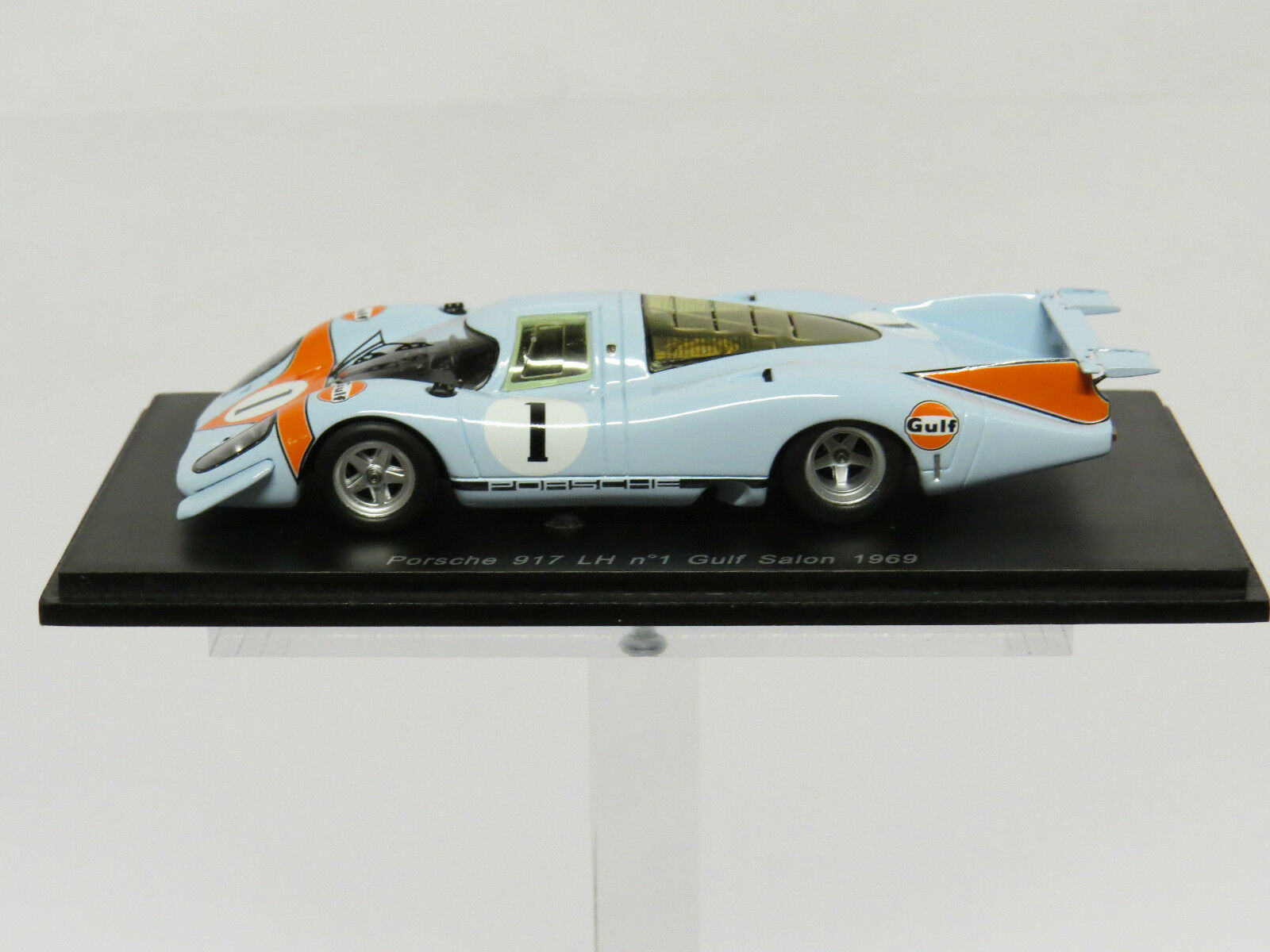 Porsche 917 LH Nr.1 Gulf Salon 1 43 Spark S1898  1 43  80% de réduction