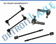NEW 6pc Front Suspension Tie Rod and Sway Bar Set for 1995 - 2003 Ford Windstar