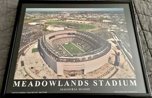 Meadowlands-Stadium-Inaugural-Season-Photo-Framed-New-York-Giants-Jets-Football