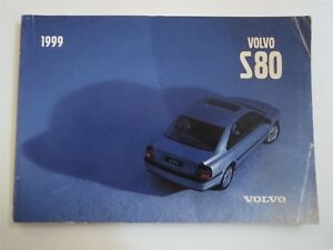 volvo s80 1999 owner manual sample user manual
