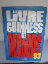 Livre Guiness des Records - 1993
