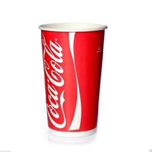 COCA Cola bicchiere 400ml bevande fredde 1000 pezzi di cartone COPPA 0,4l
