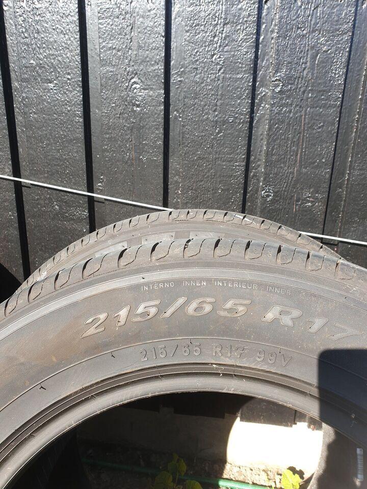 Sommerdæk, Pirelli, 215 / 65 / R17